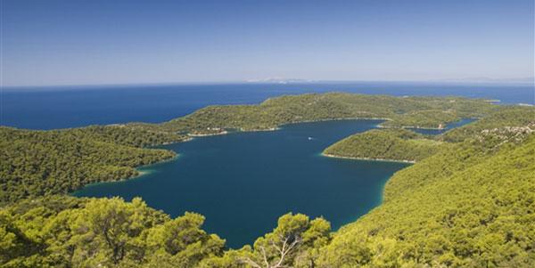 Insel Mljet in Kroatien