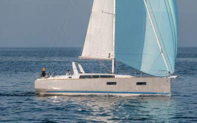 Segelyacht Beneteau Oceanis 38 beim Segeln