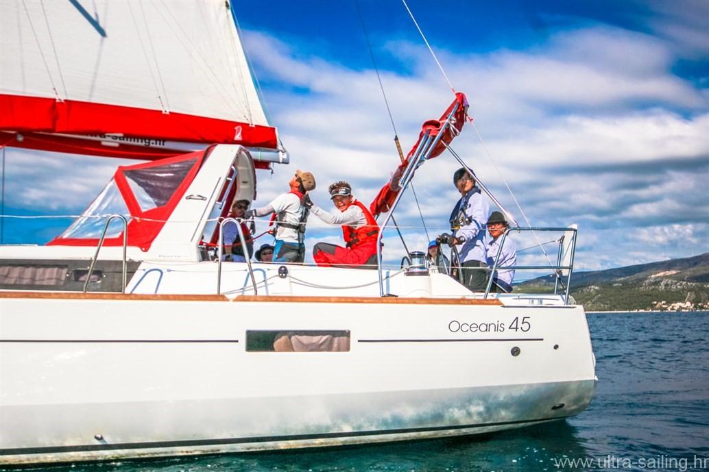 Segelyacht Beneteau Oceanis 45 von Ultra Sailing