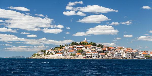 Stadt Primosten in Kroatien