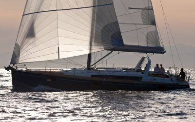 Beneteau Oceanis 48 Segelyacht beim Segeln