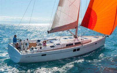 Segelyacht Hanse 505 beim segeln