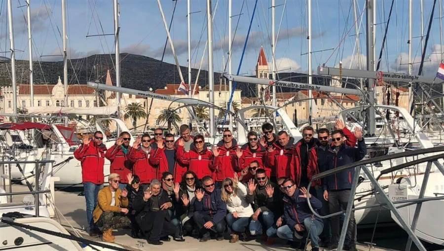 Ultra Sailing Mitarbeiter in Kroatien