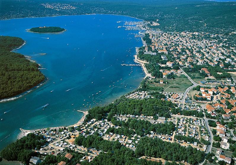 Bucht Punat auf der Insel Krk