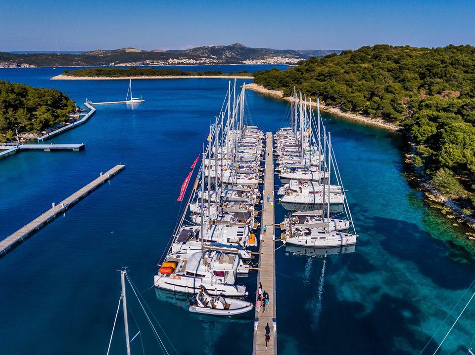Marina Palmizana auf der Insel Hvar - Pakleni Inseln